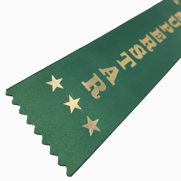 Superstar award ribbons
