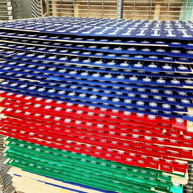 🏅Ribbons, ribbons, ribbons!🏅 These are custom designed firsts, seconds and thirds for a school in South Australia. They've been printed and are waiting to go through the tunnel drier. 👏 . By far, the majority of what's requested is royal blue, red and green ribbon, but we have a rainbow of colours to choose from which means we can usually match your club or school colours. A great momento!  . You can also get creative and surprise your participants with something out of the ordinary 🌈🤩🥳 We love that! . #coachlife #teacherresources #schoolresources  #australianschools #academicawards #sportsawards #trophyshop #customprinting