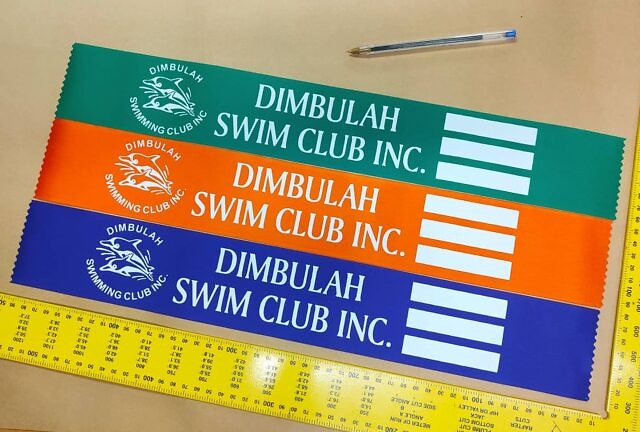Yes, we can make custom printed BIG ribbons! How great do these look?! With spaces for names, times and dates, it's a great record of a win or PB.  Get in touch and we'll make your awards happen quickly, beautifully and within budget.  . #celebratethewins #swimclub #pbday #customribbons #customprintingbrisbane #customprintingaustralia #sportsmemorabilia